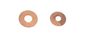 Bronze washers 0.005 x 3/16 -10 st