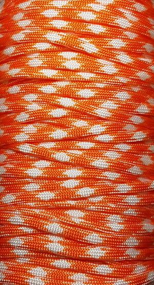 Paracord Orange/vit