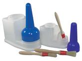 Hållare för lim och pensel