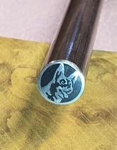 Mosaikpin Hund 8 mm - Rostfritt