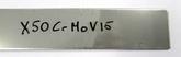 X50CrMoV15 - 3,0x50x250 mm