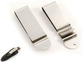 Belt clip Model 1 - Nickel