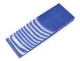 Micarta Blue / White 8mm