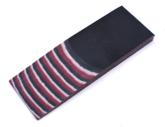 Micarta Red / Black / Stone 8mm
