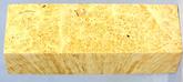 Stabiliserad Maple Burl Mix-400