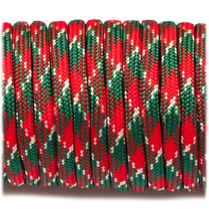Paracord 550 - Red Green White