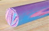 Polyester Purple Haze cylinder