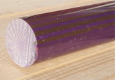 Polyester Purple Gold cylinder