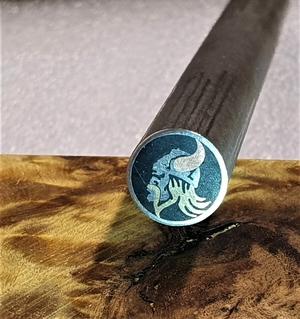 Mosaikpin Viking 10 mm - Rostfritt