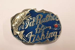 Bältesspänne Rather be Fishing
