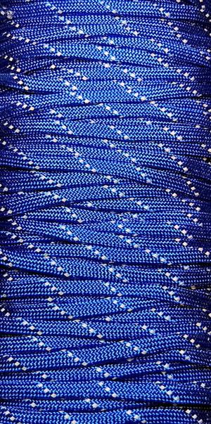 Paracord Reflective Blue