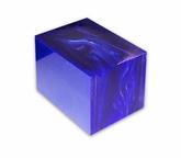 Kirinite block Deep Blue Pearl