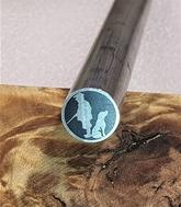 Mosaikpin Jägare 10 mm - Rostfritt