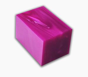 Kirinite block Magenta Pearl