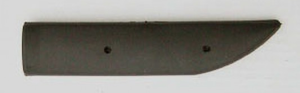 Innerslida av plast 180x35mm
