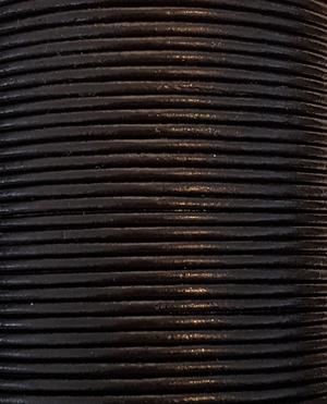 Läderrem rund 3 mm