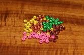 Dazzle Brass Beads 3,8 mm