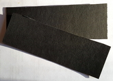 Vulkanfiber - remsa svart 1,5 mm
