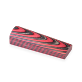 Laminerat Arctic Red/Black White shaded - skala