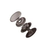 Tryckknapp 15 mm Antik Nickel 10-pack