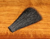 Selected Hair Wing - Black Goat