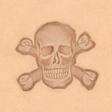 3D Puns - Skull Crossbones