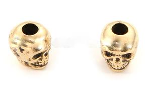 Skull bead Gold Plated