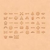 Puns set - Native American Symbols