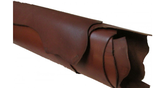 Vegetabilgarvat läder brun ca 2,5 mm - hel framdel 12,3 kv.fot