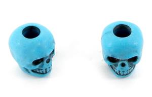 Skull bead Turquoise