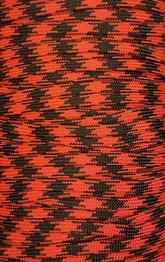 Paracord Röd/svart