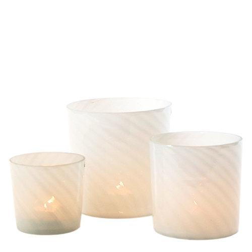 Sandy Wave Cylinder White S / M / L