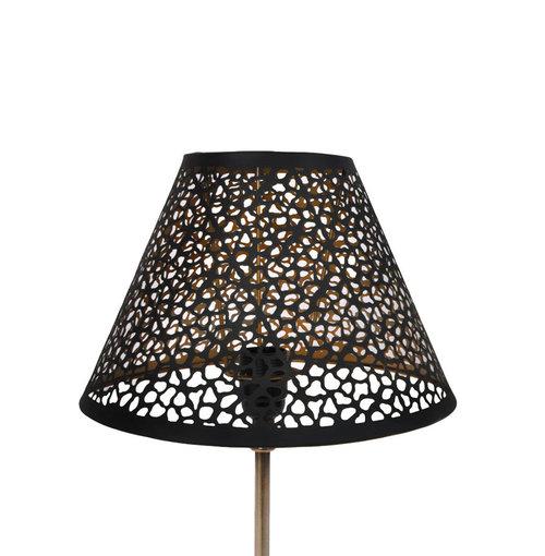 Lampshade Golden Black M2