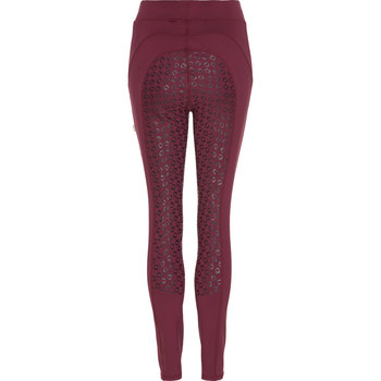 Equipage Dalena ridetights Deep Berry red