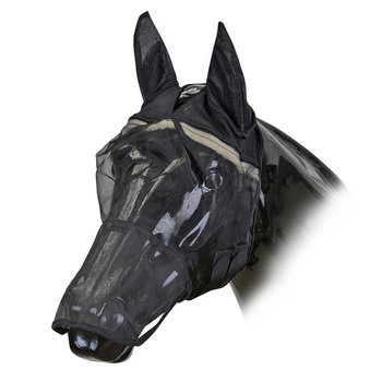 HorseGuard Anti-UV fluemaske finmasket med mulebeskytter