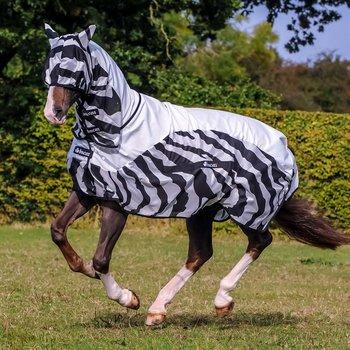 Bucas Zebra Buzz Off RAIN Full Neck