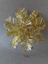 Julstjärna Guld Toppstjärna