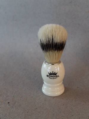 Mondial Basic Shaving Brusch/Ivory