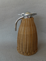 Kaffekanna/Flätad/Naturbrun
