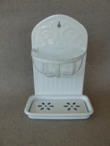 Tvålkopp/Svamphållare/Emalj