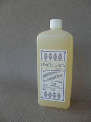 Linoljesåpa/Lavendel/ 1 liter