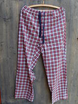 Byxa/Pyjamas/rödrutig