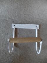 Toapapphållare/Vit