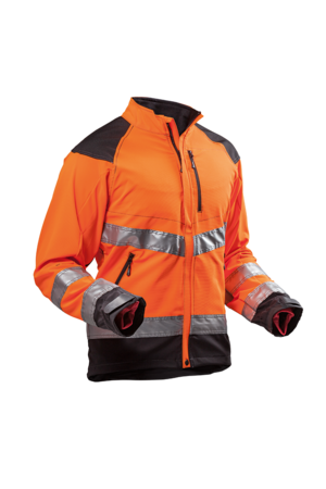 Jacka Ventilation Orange EN 20471
