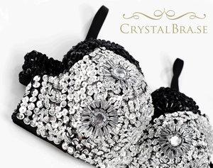 Crystal Bra - Silver