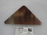 11979 stödplatta alu 3mm =>8RA 002 020-001 röd triangel