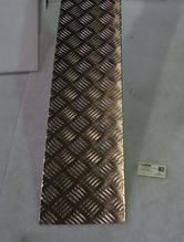 12898 durkplåt alu Five bar bakgavelhiss 3x190x1380 mm