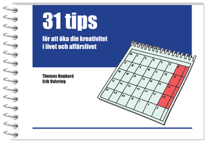 31 tips to increase your creativity 25 pack (Swedish)