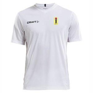 T-shirt Craft Squad Shotokan Center, vit, vuxenstorlek