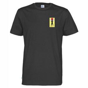 T-shirt bomull Cottover Shotokan Center, svart
